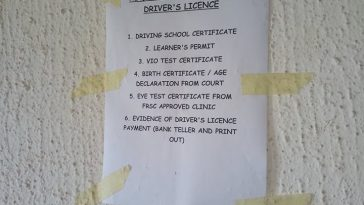 nigeria drivers license requirements cost price