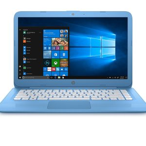 HP Stream Laptop PC 14-ax040nr (Intel Celeron N3060, 4 GB RAM, 64 GB eMMC, Blue)