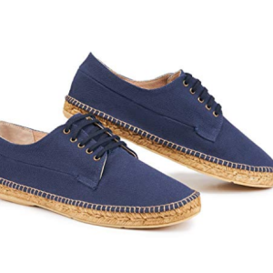 Men's Pol Canvas, Lace up, Original Espadrilles Made in Spain