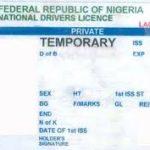 price of nigeria drivers license