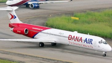 dana air domestic flight booking in nigeria in whatsapp