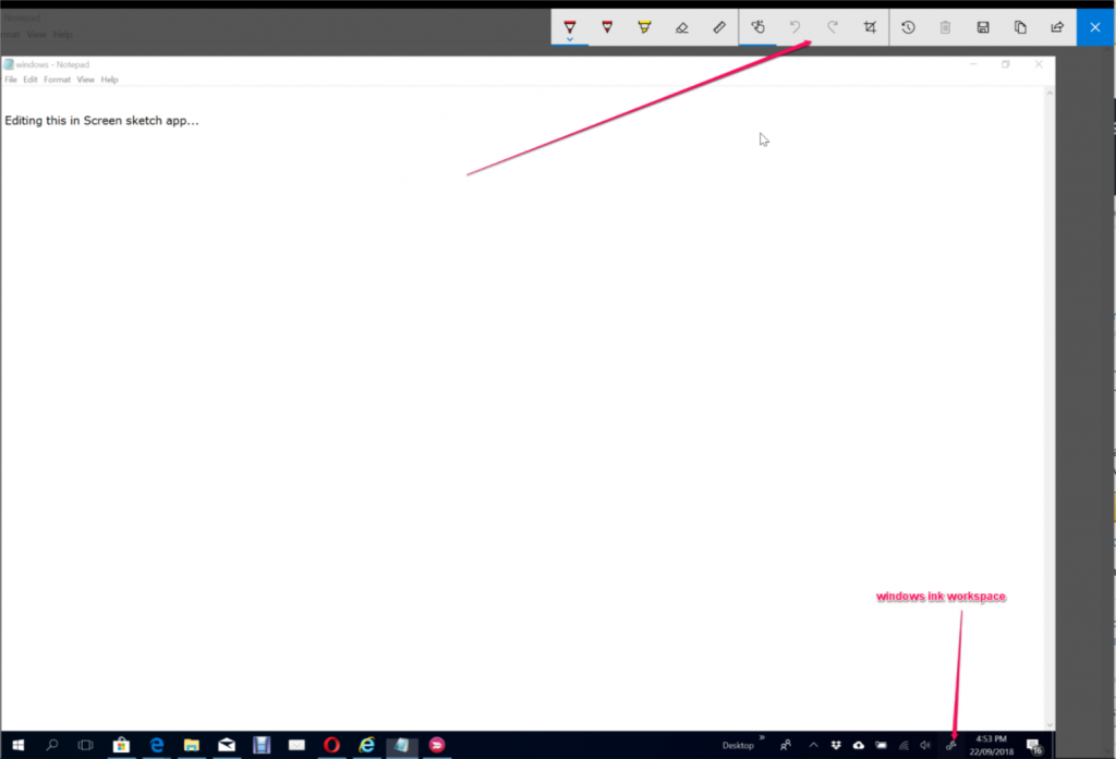 screenshot image editor windows 10