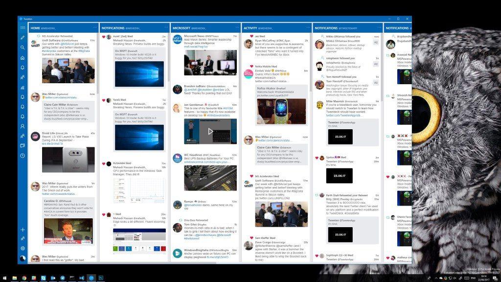 tweeten twitter social media management dashboard windows 10