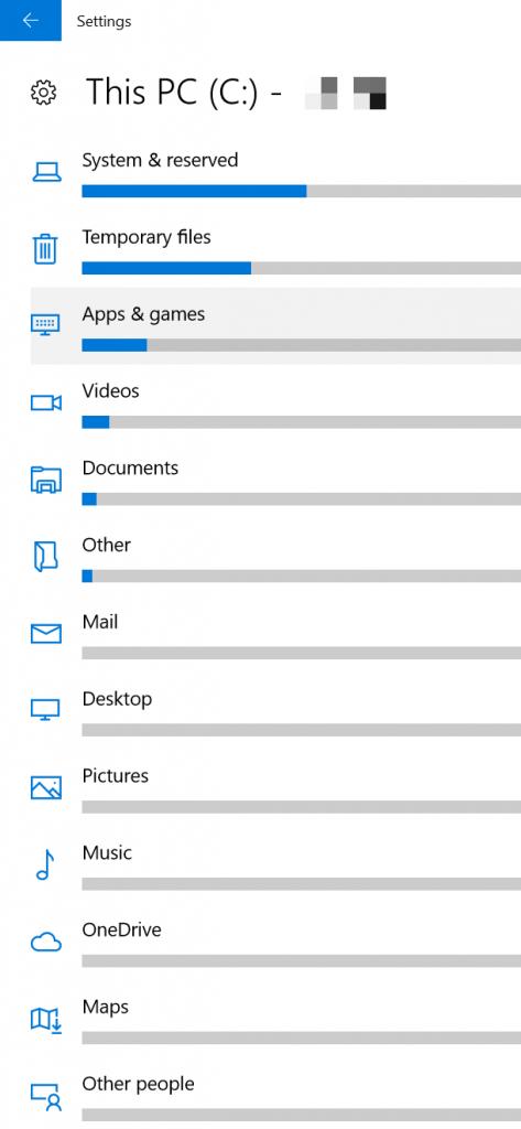 windows 10 hard disk analyzer app