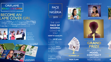 Face of oriflame beauty contest 2019