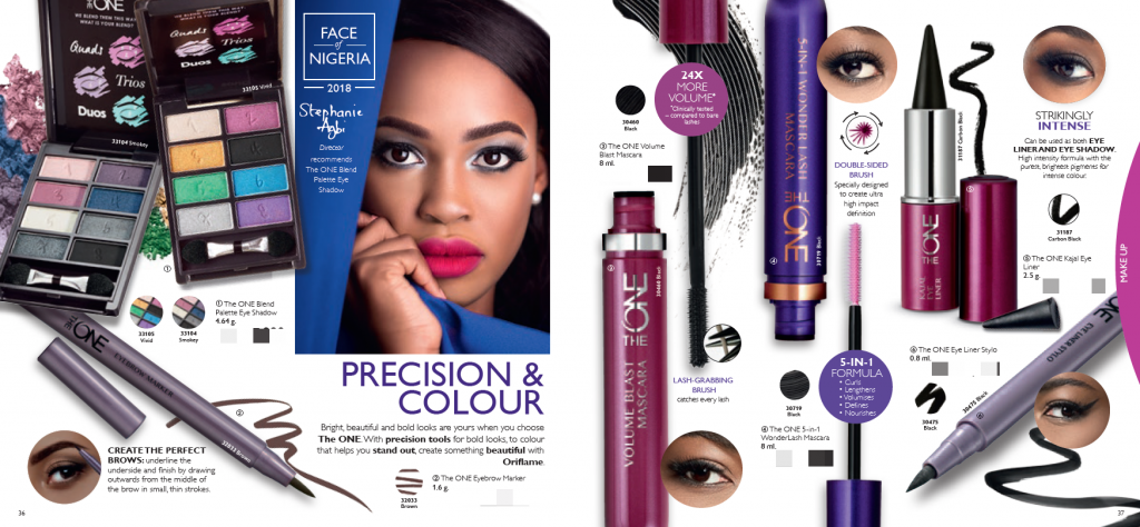 oriflame make up products