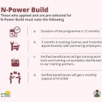 npower build selection
