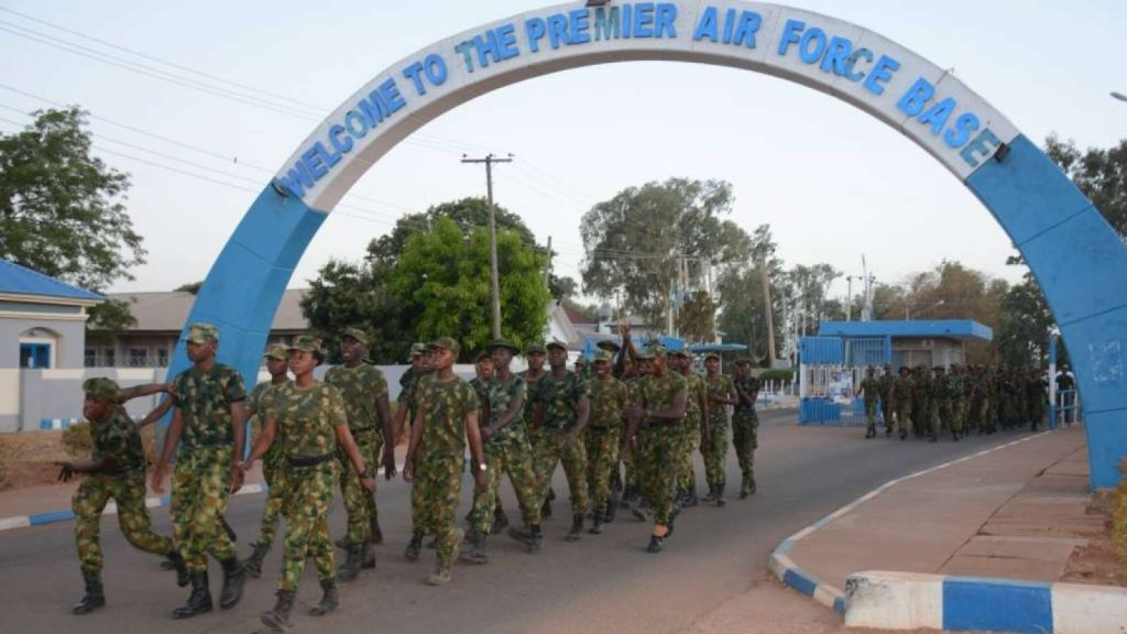 nigerian air force base photo