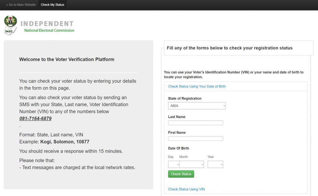 Check Vin Online >> Pvc Status Check Portal For Pvc Verification Pvc Vin Number