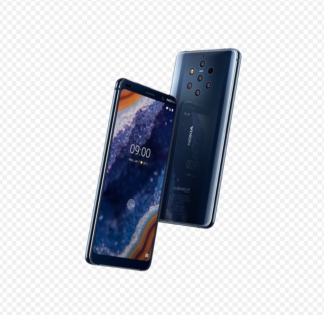 nokia oureview android phone with 5 cameras