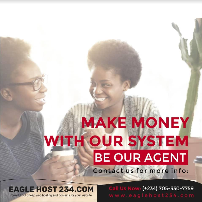 make money online in nigeria as eagle host agent