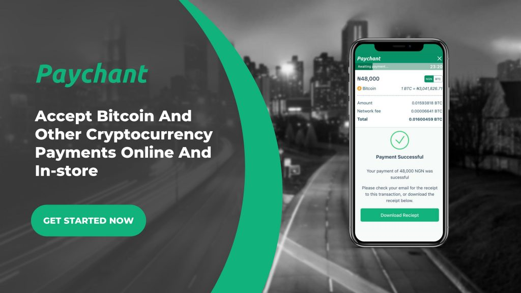 accept crypto currencies online in nigeria paychant