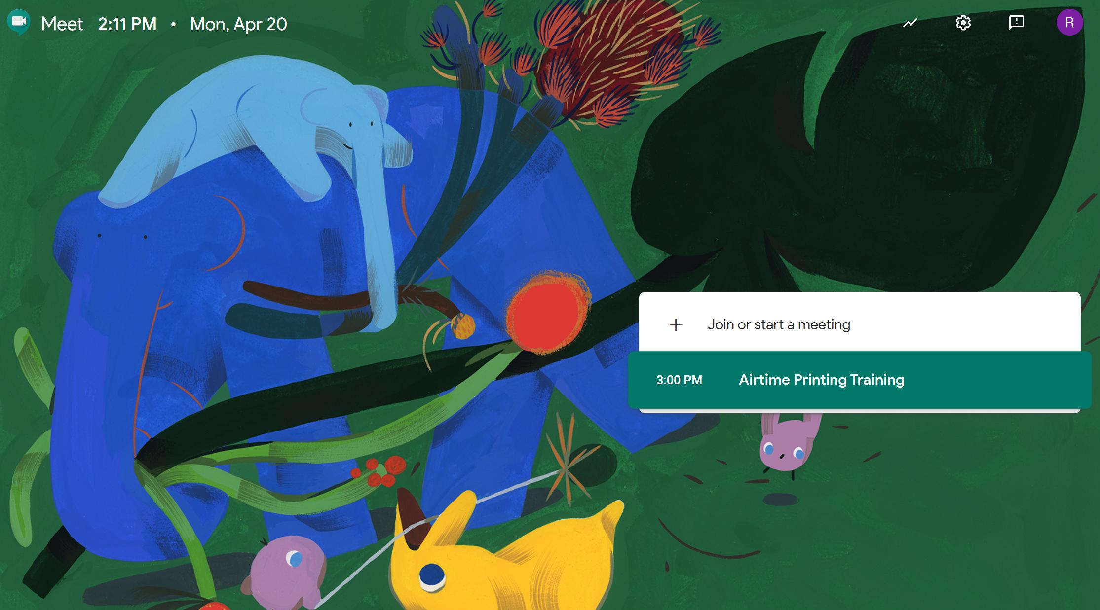 google meet video conferencing app for online video meetings groups webinars